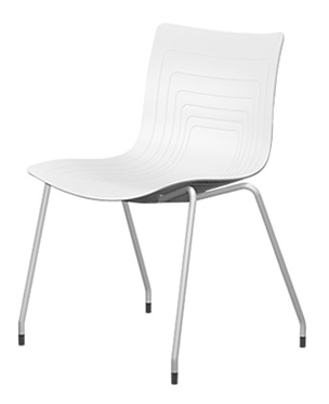 6W-1-PP - Four legs chair