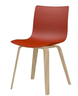 5W-3PW-PP - Plywood base chair