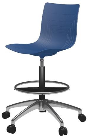 5W-4H-PP-AP1 - Office high chair