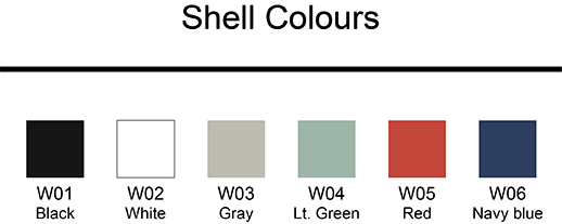 Shell Colours