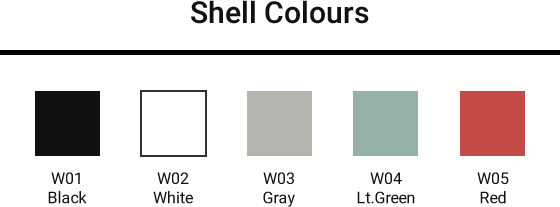 shell colors